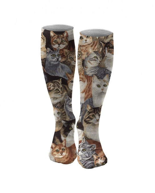 Cats knee socks Thumbnail 1