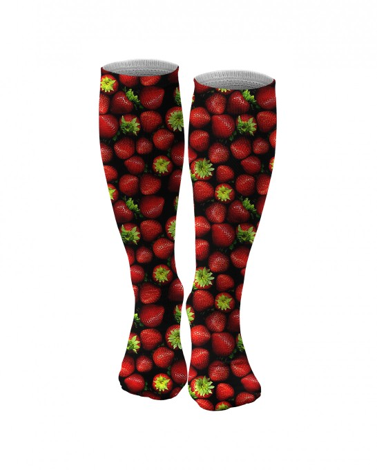 Strawberries knee socks аватар 1