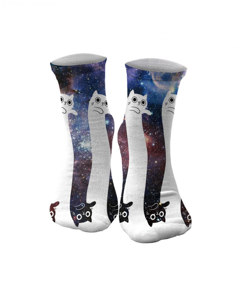 Mr. Gugu & Miss Go, To the infinity... and beyond! midi socks Imagen $i