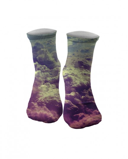 Clouds midi socks Thumbnail 1