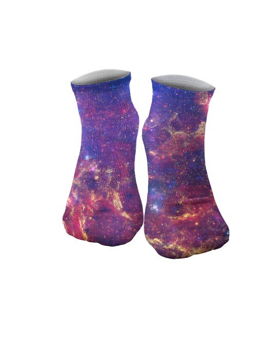 Purple Nebula socks Thumbnail 1