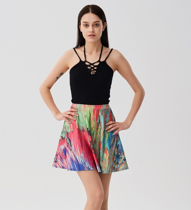 Drying Paint skater skirt Miniature 1