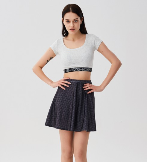 Punisher skater skirt Miniatura 1