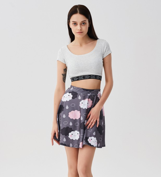 Moody weather skater skirt Miniature 1