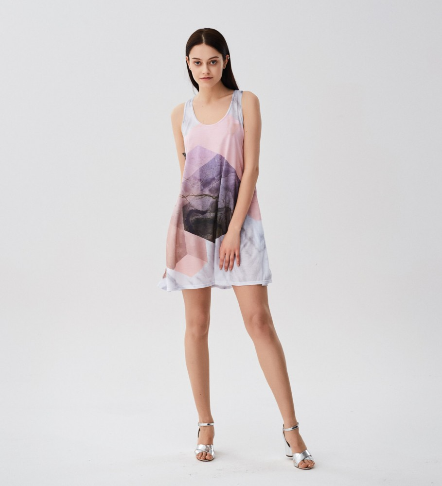 Mr. Gugu & Miss Go, Marble River minidress Image $i