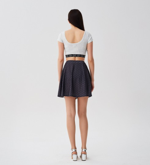 Punisher skater skirt Miniatura 2