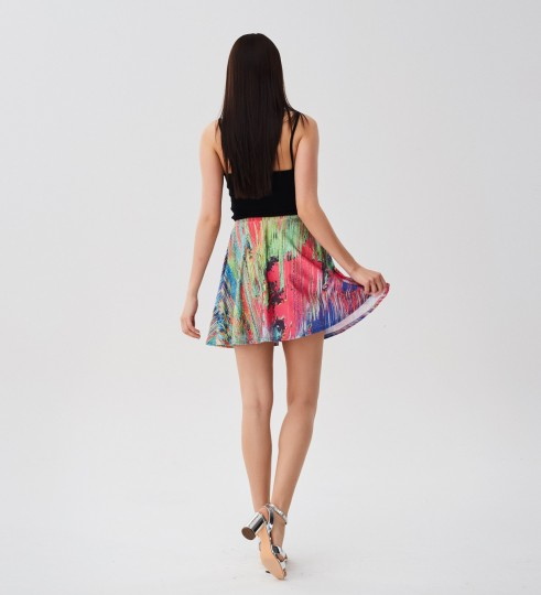 Drying Paint skater skirt Miniatura 2