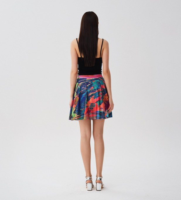 Wet Paint skater skirt Miniature 2