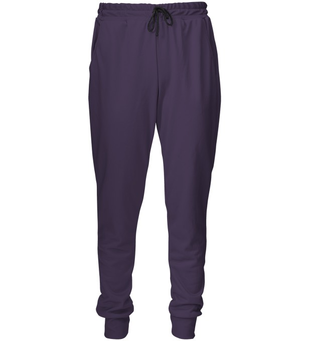 Dark Purple sweatpants Thumbnail 2