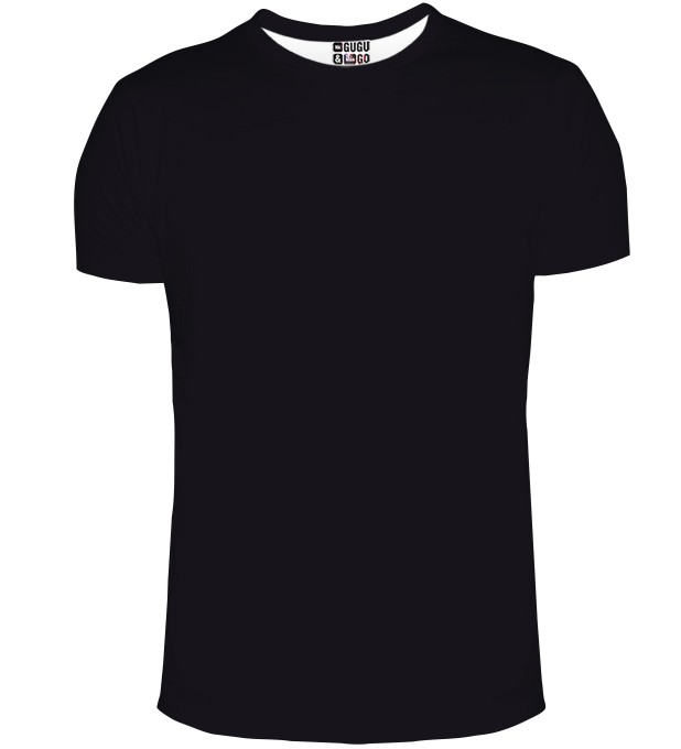 Black t-shirt Miniature 1