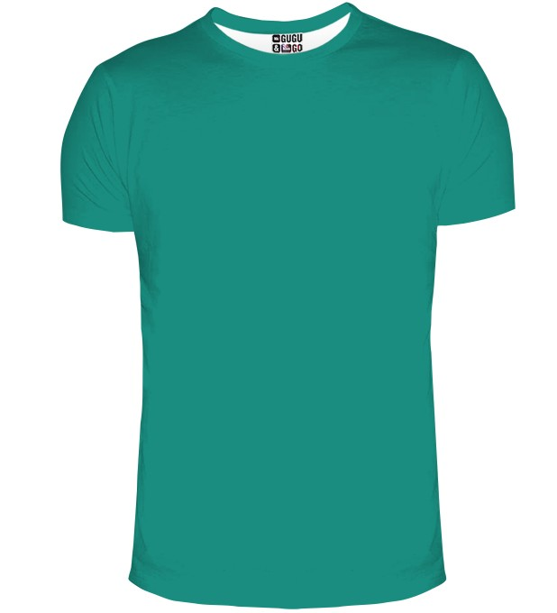 Green t-shirt Miniature 1