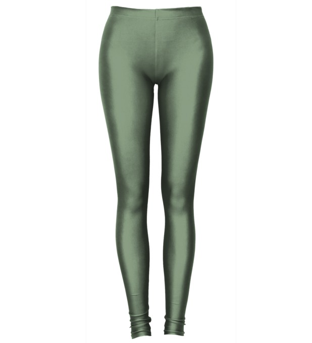 Dark Green leggings Miniature 2