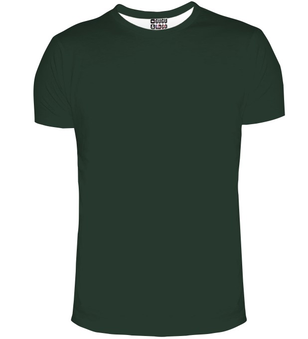 Dark Green t-shirt Miniature 2