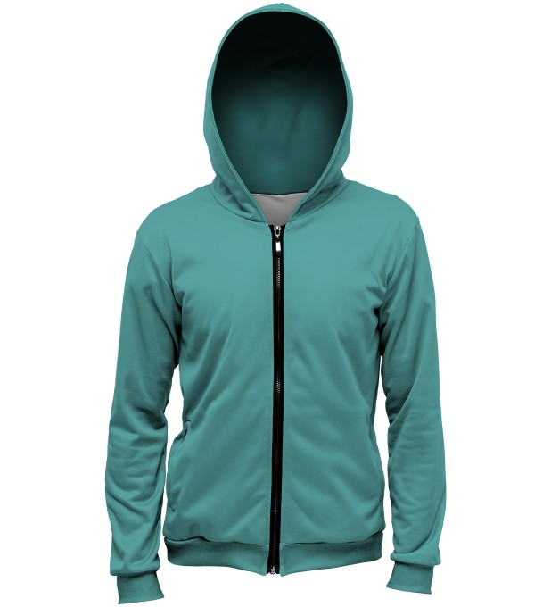 Turquoise hoodie Thumbnail 1