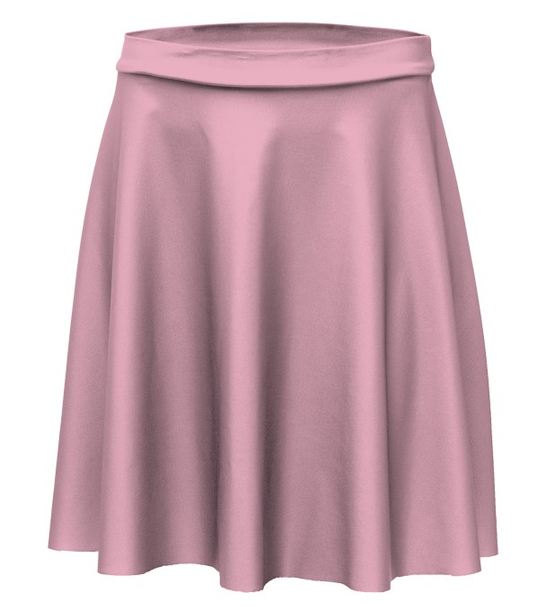 Pink skater skirt Miniature 1