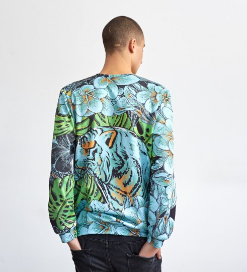 Green Tiger sweater Thumbnail 2
