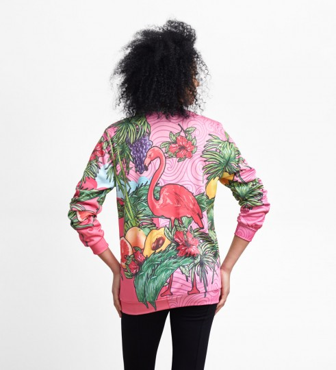 Pink Flamingo sweater Thumbnail 2