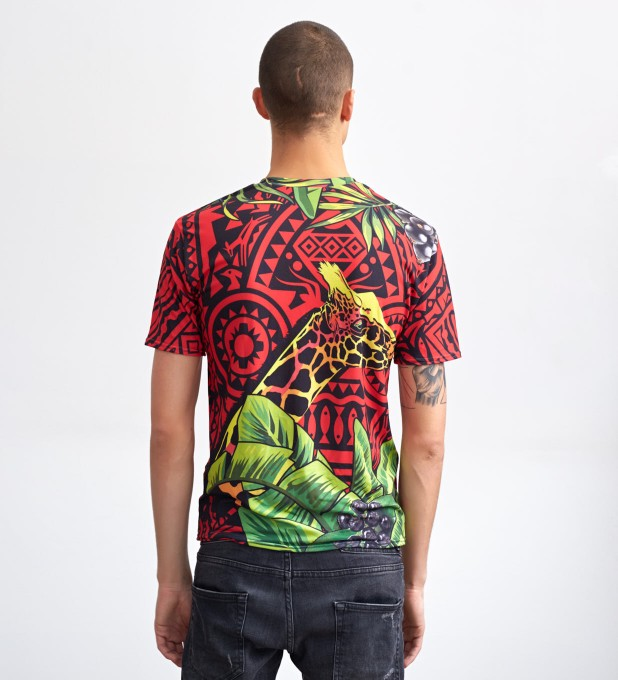 Red Giraffe t-shirt Miniatura 2