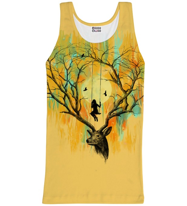 Deer Fantasies tank-top Miniature 1