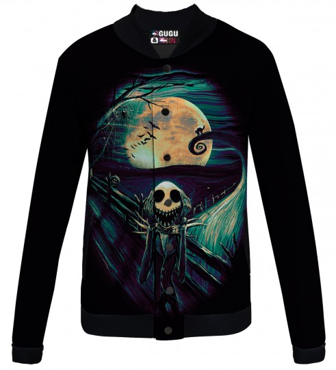 Skellington baseball jacket Thumbnail 1