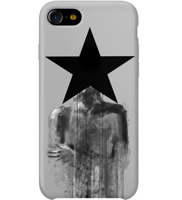 Black Star Phone Case Miniature 1