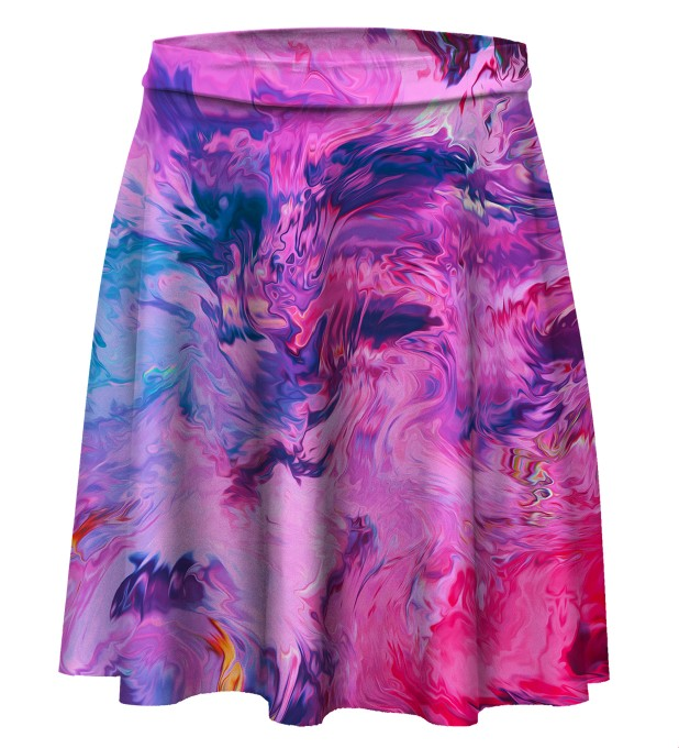 Modern Painting Skater Skirt Miniature 1