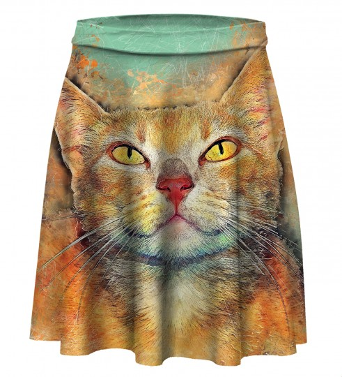 Kitty's Eyes Skater Skirt Miniatura 1