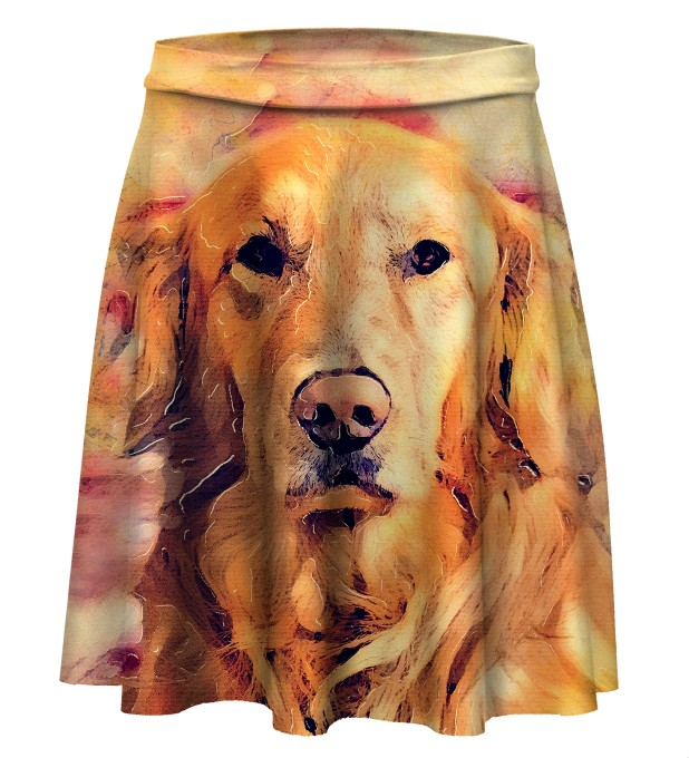 Dog's Poster Skater Skirt Miniature 1