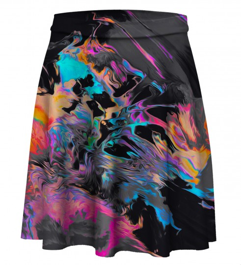 Space colours Skater Skirt Miniatura 1