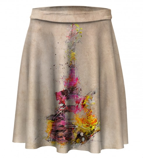 Sounds of color Skater Skirt Miniatura 1