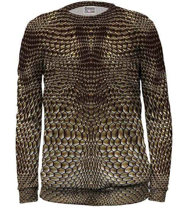 Golden armor sweater for kids Miniature 1