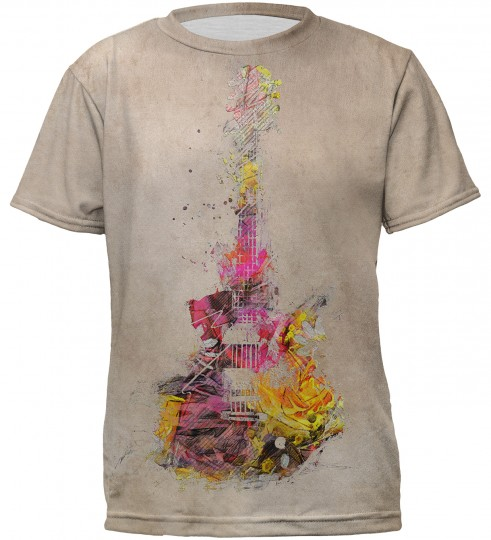 Sounds of color t-shirt for kids Thumbnail 1