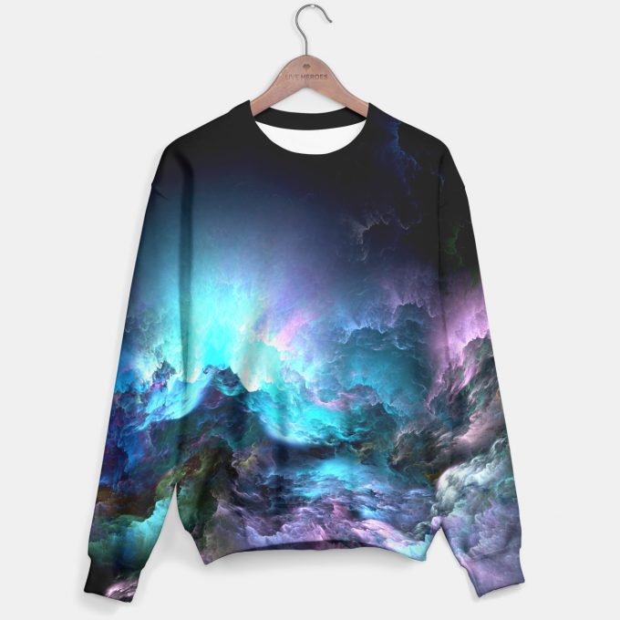 Unreal Stormy Ocean sweater Thumbnail 1