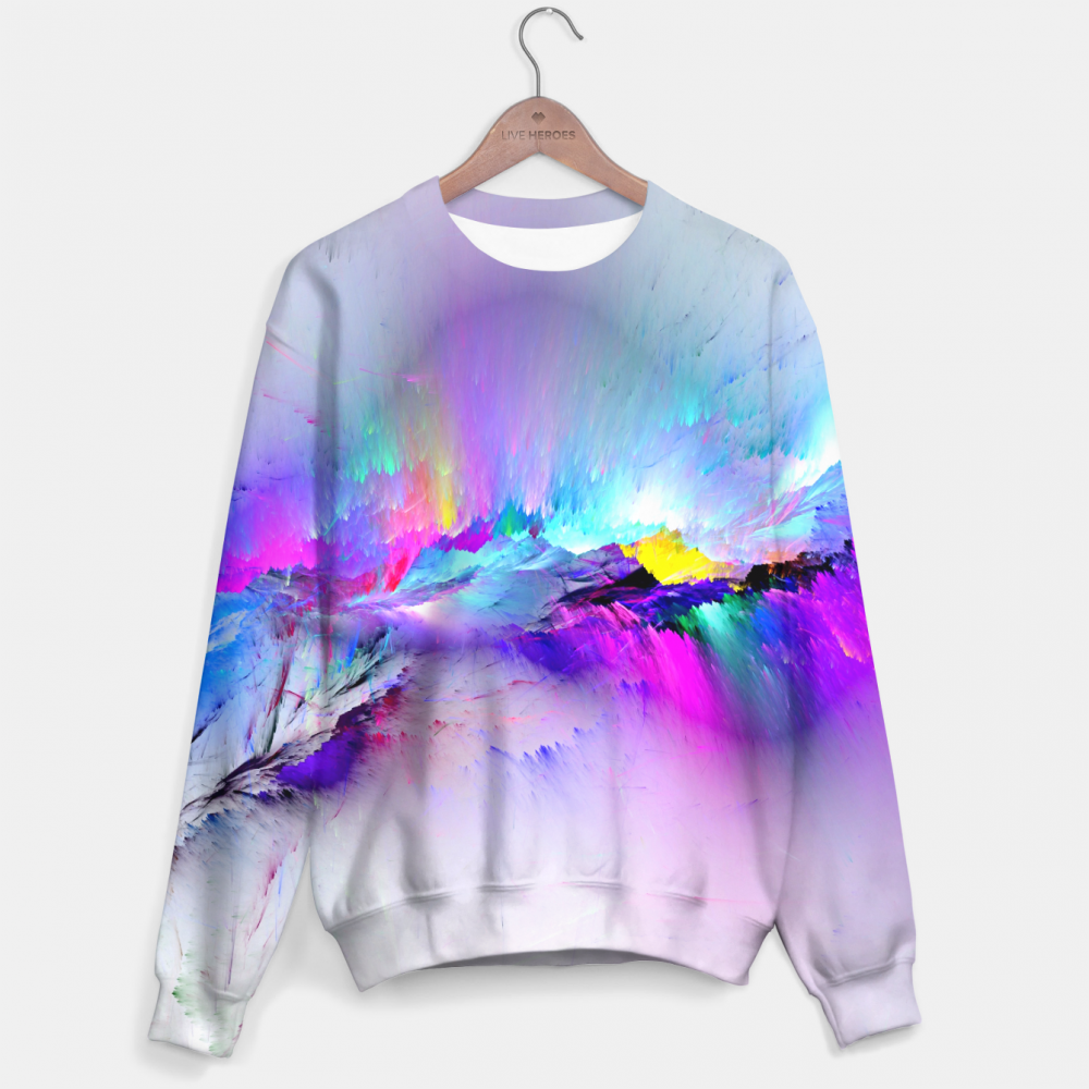 Mr. Gugu & Miss Go, Unreal Rainbow Explosion sweater Фотография $i