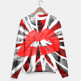 Mr. Gugu & Miss Go, Abstract Lips sweater Miniature $i