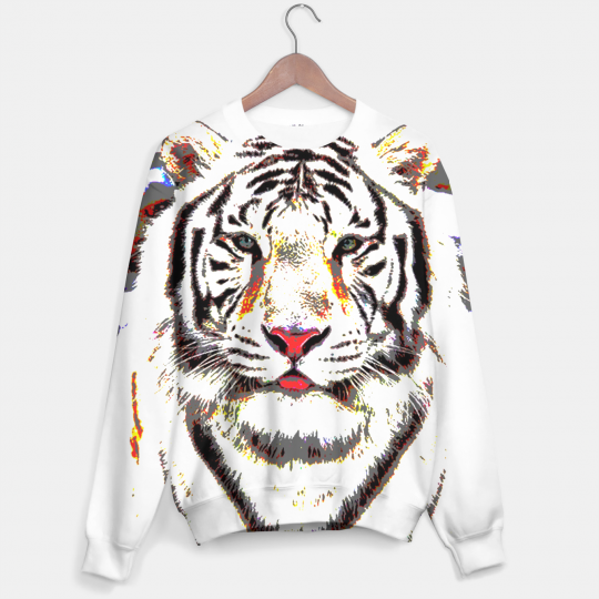 White Tiger sweater Miniature 1