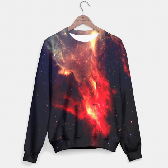 Red Galaxy sweater Miniature 1