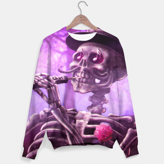 Bluza ze wzorem Move your skeleton Miniatury 1