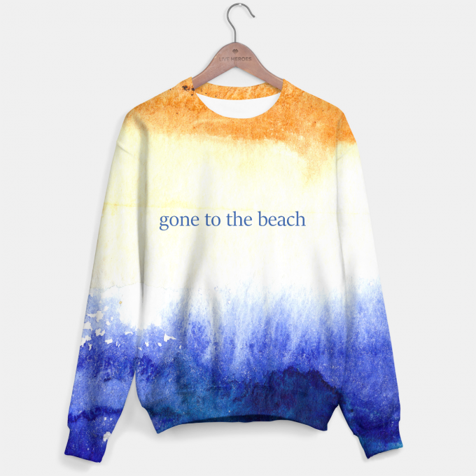 Bluza ze wzorem Gone to the beach Miniatury 1