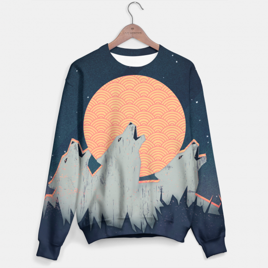 Howling Moon sweater Miniatura 1