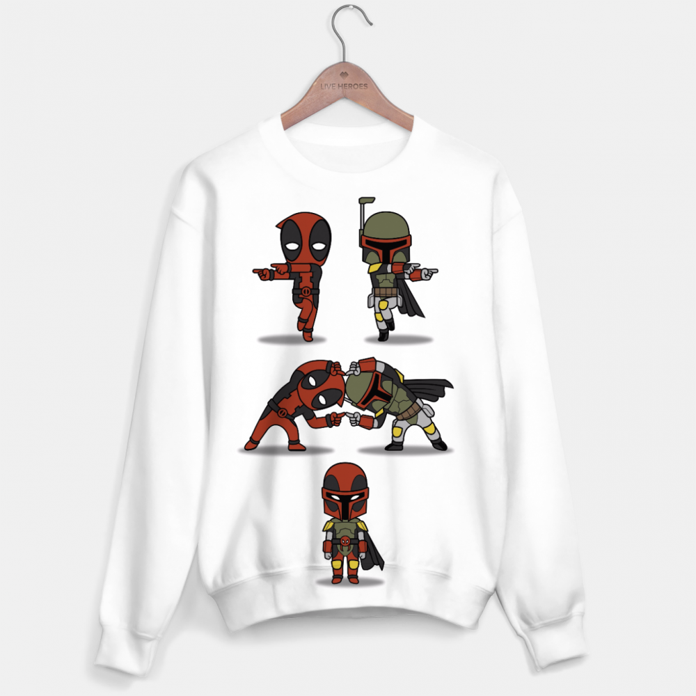 Mr. Gugu & Miss Go, Fusion dead fett sweater Image $i