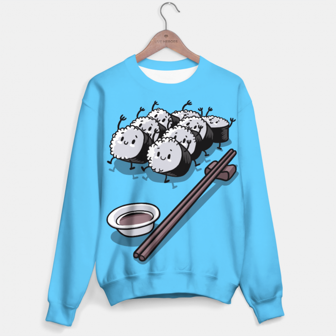 Rice sushi sweater Thumbnail 1