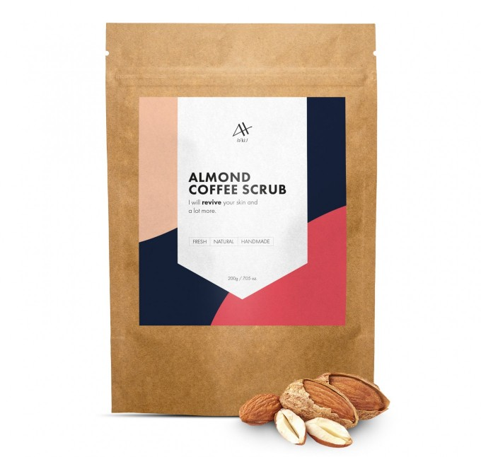 Almond Coffee Scrub 200g Miniatura 1