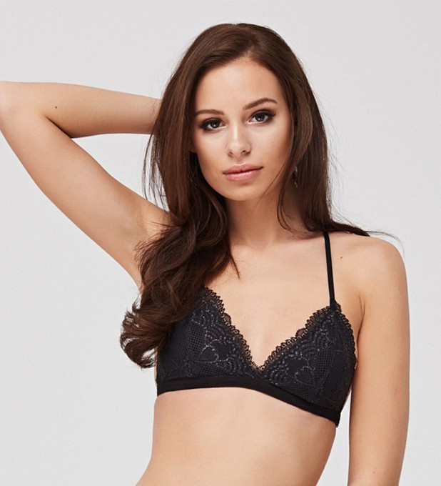 Smoky Triangle Bralette Miniature 2