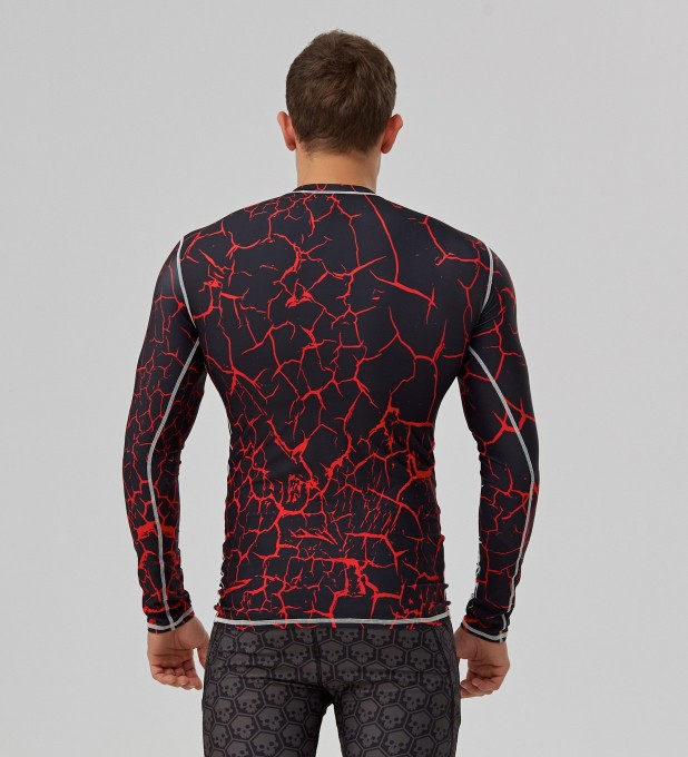 Black cracks rashguard Thumbnail 2