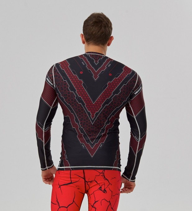 Scorbio red rashguard Miniature 2
