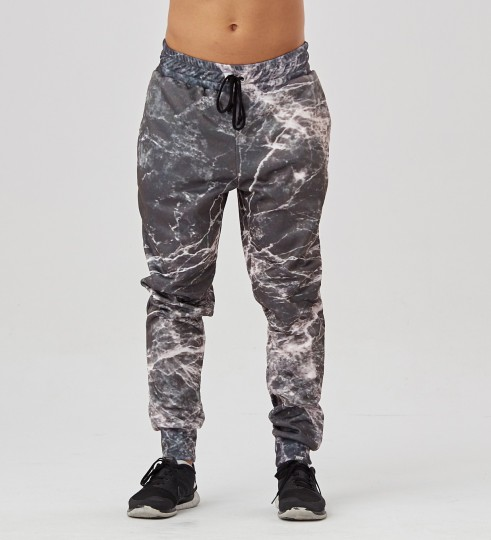 Black Marble men's joggers Thumbnail 1