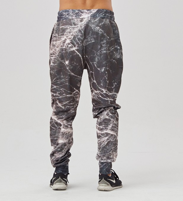 Black Marble men's joggers Miniature 2