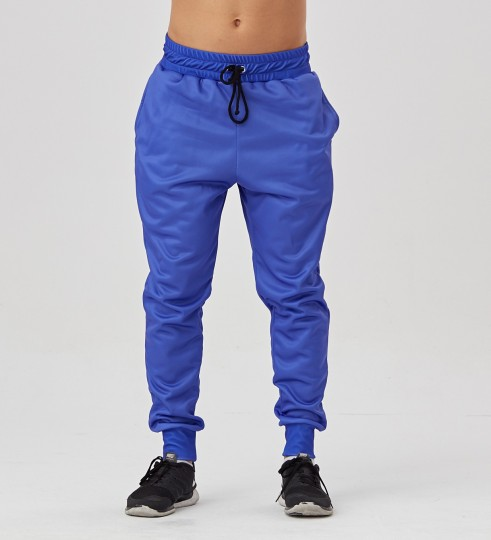 Electric Blue men's joggers Thumbnail 1