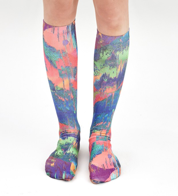 Wet Paint knee socks Thumbnail 2